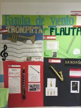 Instrumentos de la familia de viento
