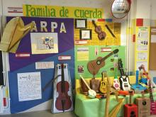 Instrumentos de la familia de cuerda